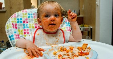As a grandfather of ten, I would suggest that anyone who has spent time around a hungry toddler would agree that, yes, being hangry is a real thing. (Photo: Pascal Saez/Photoshot/Newscom)