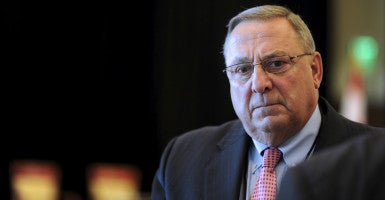 """Socialists love to subsidize"": Gov. Paul LePage's energy staffers say Maine's new solar power bill would harm ratepayers. (Photo: Gretchen Ertl/Reuters/Newscom)"