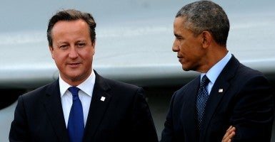 It's doubtful that the president's intervention will change many minds: Everyone in Britain who likes him is going to vote for the European Union anyhow. (Photo: Stefan Rousseau/ZUMA Press/Newscom)