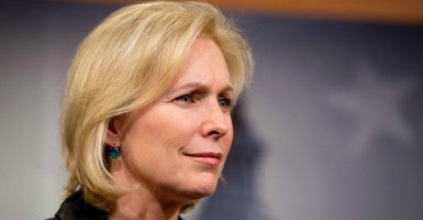 """""""King's tenure in New York was very adversarial, leaving families, students and teachers without a voice on important issues,"""" Sen. Kirsten Gillibrand says. (Photo: US Senate/Zuma Press/Newscom)"""