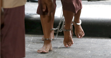 Advancing economic freedom should be viewed as central to any anti-trafficking strategy. (Photo: Chaiwat Subprasom/Reuters/Newscom)