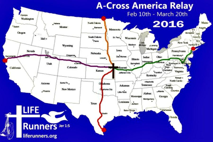 Map: LIFE Runnders