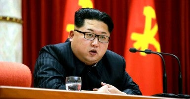 The Obama administration has still not sanctioned a single North Korean human rights violator. (Photo: Rodong Sinun/EPA/Newscom)
