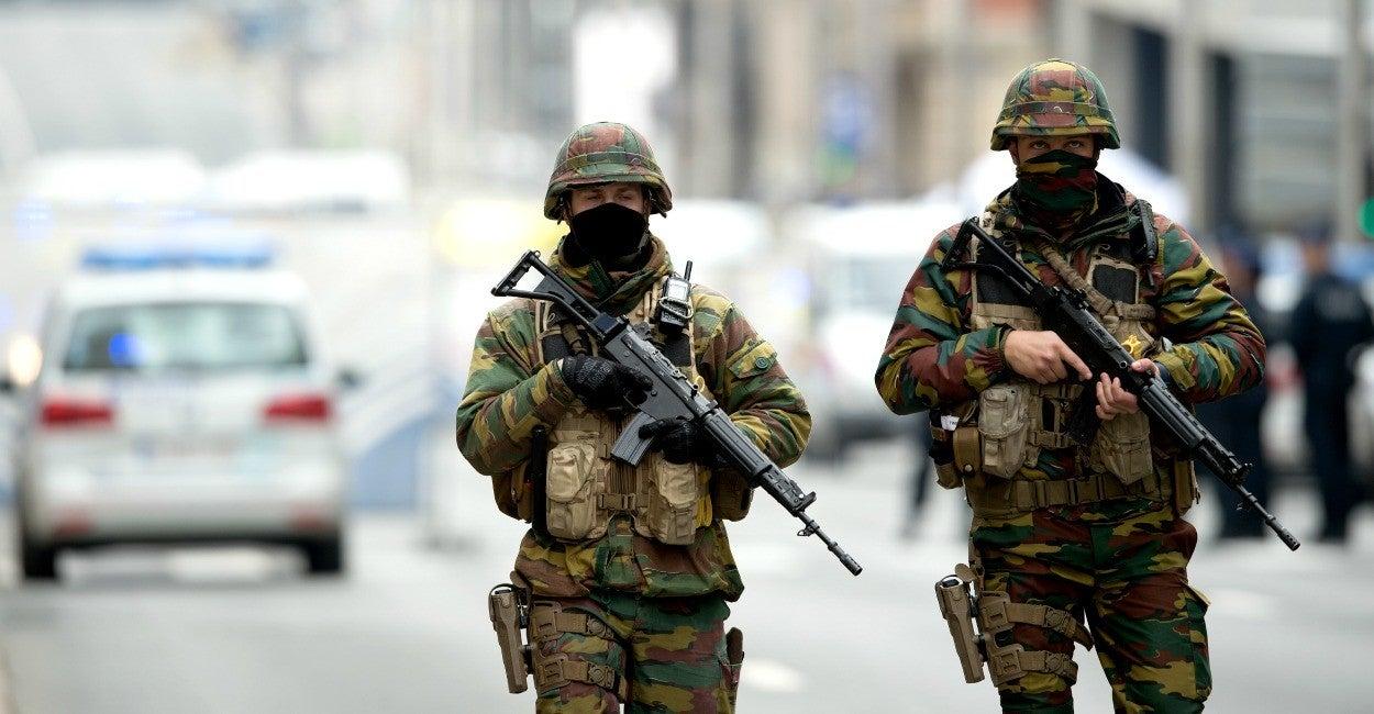 Bélgica, Ejército