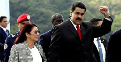 Venezuela's President Nicolas Maduro. Venezuela is facing an electricity shortage so severe, that Maduro extended the national Easter holiday by decree to decrease demand for it. (Photo: Enrique De La Osa /Reuters/Newscom)
