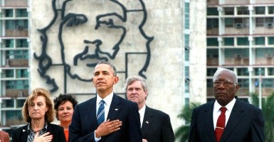 It is now clear that there is nothing that the Cuban regime can do to draw Obama's criticism. (Photo: Noah Friedman-Rudovsky/Polaris/Newscom)