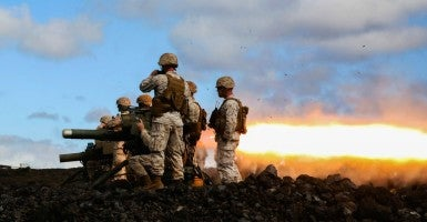 Marines fire the BGM-71 missile during exercise Lava Viper, one of the staples of their pre-deployment training, at Pohakuloa Training Area, Hawaii. (Photo: U.S. Marine Corps photo by Lance Cpl. Harley Thomas)