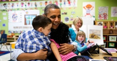 By the time most of this generation can vote, their portion of the federal debt will already be $68,000 per person. (Photo: Pete Souza/ZUMA Press/Newscom)