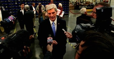 Mississippi Gov. Phil Bryant. (Photo: Stan Carroll/ZUMAPRESS/Newscom)