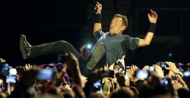 Bruce Springsteen cancelled his concert in Greensboro to protest North Carolina's bathroom bill. But Rep. Mark Walker, R-N.C., says there's more at stake than rock and roll. (Photo: Felipe Trueba/EPA/Newscom)