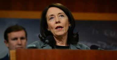 Sen. Maria Cantwell, D-Wash. (Photo: Mariela Zechter/ZUMA Press/Newscom)