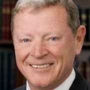 Portrait of Sen. Jim Inhofe