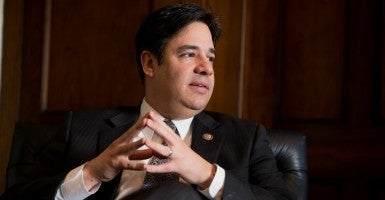Rep. Raúl Labrador, R-Idaho, sounds optimistic the House will advance his religious liberty bill pegged to the marriage debate. (Photo: Tom Williams/CQ Roll Call/Newscom)