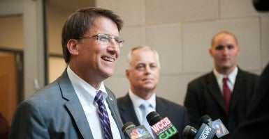 Gov. Pat McCrory and legislative leaders must hold their ground on the Bathroom Privacy Act without making any more changes or concessions.  (Photo: Flickr/NCDOTcommunications/CC BY 2.0)