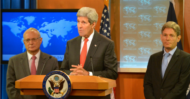 Secretary of State John Kerry. (Photo: State Department/Sipa USA/Newscom)