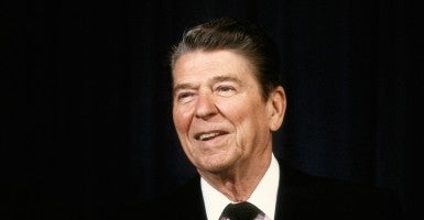 President Ronald Reagan left office with a final approval rating of 63 percent, the highest of any president to that point. (Photo: Mark Reinstein/Zuma Press/Newscom)