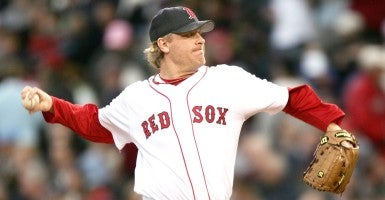 Former Boston Red Sox pitcher Curt Schilling. (Photo: Anthony J Causi/Icon SMI 942/Anthony J Causi/Icon SMI/Newscom)