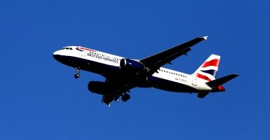 British Airways Airbus A320. (Photo: Steve Parsons/Zuma Press/Newscom)