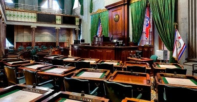 Senate chamber in the Tennessee State Capitol. (Photo: iStock Photos)