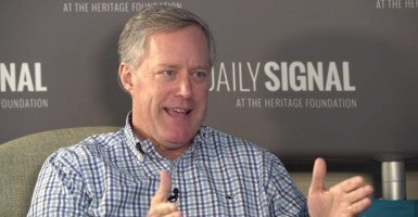 Rep. Mark Meadows, R-N.C. (Photo: Daily Signal)