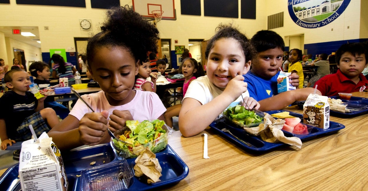 School Lunch Program: No Wealthy Child Left Behind