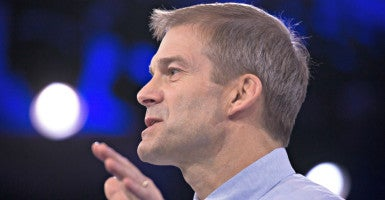 "A proposed budget compromise  ""has some merit,"" says Rep. Jim Jordan, R-Ohio, pictured here in March 2016 at the Conservative Political Action Conference outside Washington. (Photo: Jeff Malet/Newscom)"
