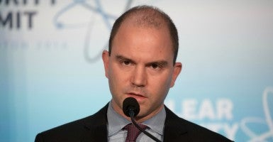 Deputy National Security Adviser Ben Rhodes. (Photo: Jeff Malet Photography/Newscom)