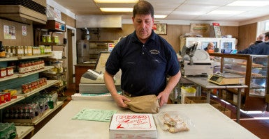 In 2013, the IRS seized more than $68,000 from the Connecticut bakery David Vocatura and his family own. The IRS returned the money, but is still pursuing a tax investigation. (Photo: Institute for Justice)