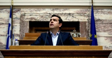 Greek Prime Minister Alexis Tsipras. (Photo: Alkis Konstantinidis/Reuters/Newscom)