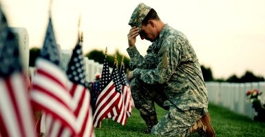 We must never—ever—forget that America is the home of the free because of the brave. (Photo: iStock Photos)