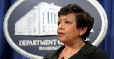 Attorney General Loretta E. Lynch. (Photo: Joshua Roberts/Reuters/Newscom)