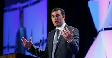 Rep. Justin Amash, R-Mich., posted a characteristically thoughtful Facebook post defending his vote for the Maloney amendment. (Photo: Kevin Lamaque /Reuters/Newscom)