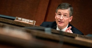 This new bill is proof that Rep. Jeb Hensarling, R-Texas, and his Financial Services Committee colleagues understand what financial regulatory reform really looks like. (Photo: Joshua Roberts/Reuters/ Newscom)