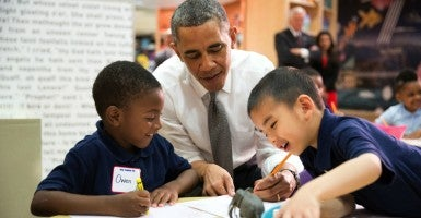 "The administration warns that ""not recognizing children's cultures and languages as assets"" may be hurting them with school work. (Photo: Pete Souza/ZUMA Press/Newscom)"