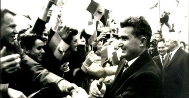Nicolae Ceausescu, chairman of the Romanian Communist Party. (Photo: Keystone Pictures USA/Zuma Press/Newscom)