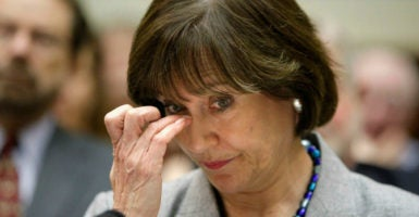 A group of conservative leaders calls on Americans to urge their representatives in Washington to protect citizens from abuse by IRS officials such as Lois Lerner, above. (Photo: Jonathan Ernst/Reuters/Newscom)
