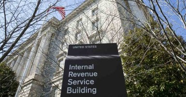The IRS will send letters to people involved in 700 cases who had money seized by the tax agency based on allegations of structuring. (Photo: Kris Tripplaar/Sipa USA/Newscom)