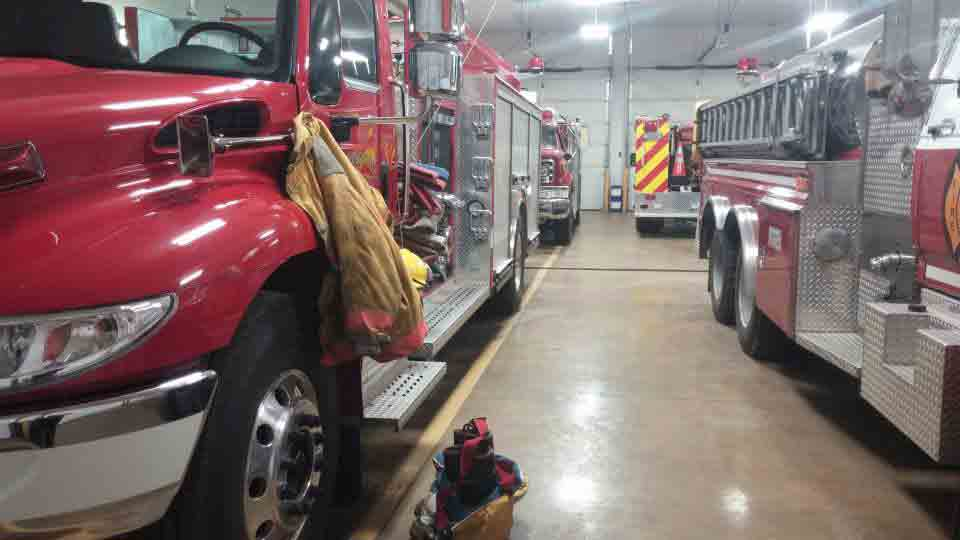 Circle K Service Corp. manufactures fire trucks like the one above from Thompsonville Fire and Rescue, shown on the department's Facebook page. (Photo: Thompsonville Fire and Rescue/Facebook)