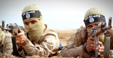 ISIS has had fantastic success in attracting foreign recruits, so cutting off its supply of new fighters is also crucial. (Photo: ABA/Newscom)