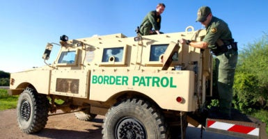 Action on the border has to be paired with a responsible immigration enforcement policy.  (Photo: Flickr/U.S. Customs and Border Protection)