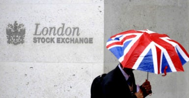 Whether Brexit was a wise choice should not be evaluated by falling stock markets this week or a soaring economy next year. Good institutional arrangements sometimes arrive at bad policy choices, and vice versa. (Photo: Toby Melville /Reuters/Newscom)