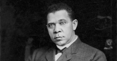 Booker T. Washington  deserves a place in the pantheon of American heroes.(Photo: UPPA/Photoshot/Newscom)