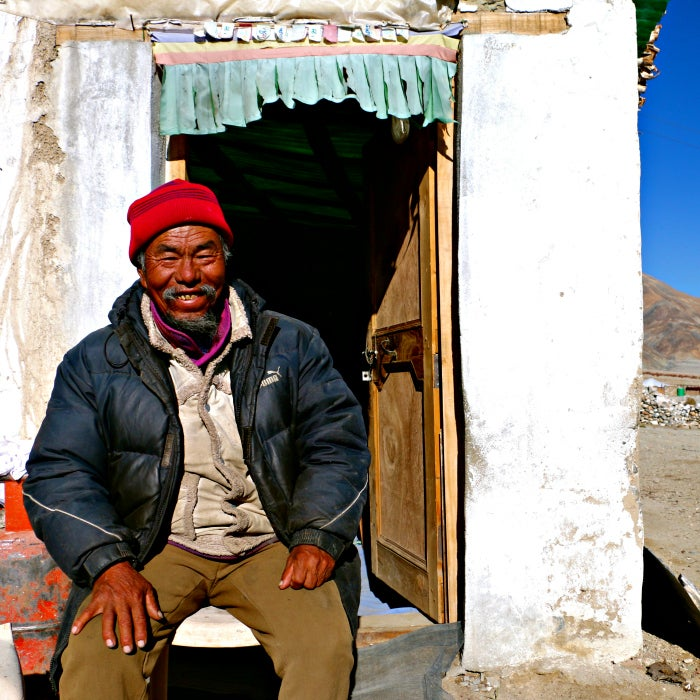 Tsering Tunduk fled Tibet in 1959 after Chinese soldiers executed his parents. (Photo: Nolan Peterson/The Daily Signal)
