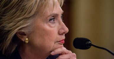 FBI Director James Comey testified before the House Oversight and Government Reform Committee on former Secretary of State Hillary Clinton's use of a private server. The FBI recommended no criminal charges be filed against Clinton. (Photo: Jeff Malet Photography/Newscom)