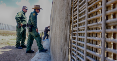 Customs and Border Protection agents patrol the U.S.-Mexico border fence  in California. Immigration was among key issues in the GOP platform. (Photo: Sandy Huffaker/Zuma Press/Newscom)