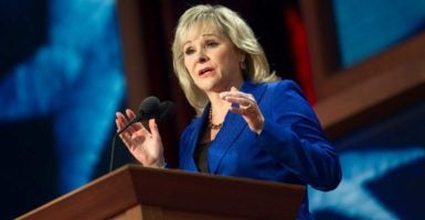 """It's not a Republican or a Democrat issue. It's an American issue we should all be concerned about,"" Oklahoma Gov. Mary Fallin says. (Photo: Chris Maddaloni/CQ Roll Call/Newscom)"