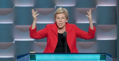 Sen. Elizabeth Warren, D-Mass., is calling for strong regulation against big technology giants such as Google, Apple, and Amazon. (Photo: Richard Ellis/ZUMA Press/Newscom)