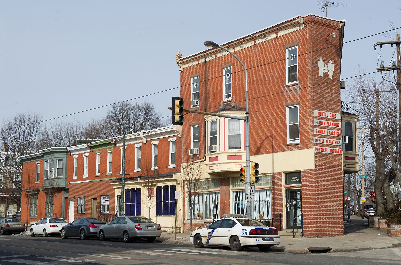 Kermit Gosnell's former clinic at 3801 Lancaster St. in Philadelphia. (Photo: Gilbert Carrasquillo/Splash News/Newscom)