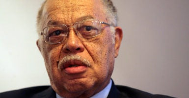 Kermit Gosnell, pictured at his lawyer's office in 2010, is currently serving three life sentences in a Pennsylvania prison for involuntary manslaughter of a woman seeking an abortion at his clinic and first-degree murder of three infants born alive. (Photo: Yong Kim/Philadelphia Daily News/MCT)
