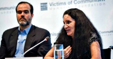 Cuban dissident Sirley Ávila León is the recipient of  the Human Rights Prize of the Victims of Communism Memorial Foundation in Washington. (Photo: Victims of Communism Memorial Foundation)